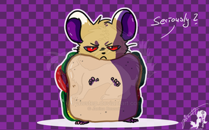 Costume Party - Ham-Sandwich by JB-Pawstep