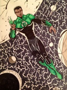 Green Lantern- John Stewart by POWERSMITH2