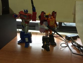 Autobot leaders by FrxPlanner