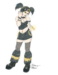 Rogue the Umbreon by RequiemBelle