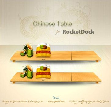 Chinese Table Dock - RD by snuffleupagus
