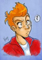Philip J. Fry by reactormako