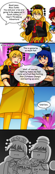 Touhou Comics: What if.. by aimturein