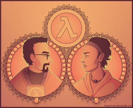 fancy half life thing by Felicity-101
