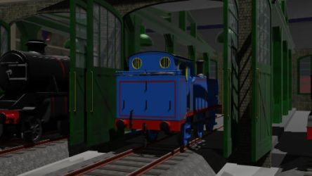 Night at the Sheds by Fanofthomas31
