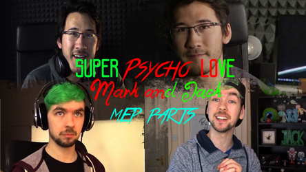(Miniature Youtube) Septiplier-Super Psycho Love by GioRJ-TheBlackNinja