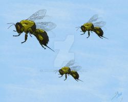 Flight of the Bumblebees by Mxdmediem