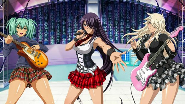 Ikki Tousen Rock 1 By Infamous20666 by Infamous20666