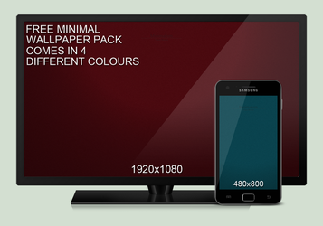Minimalism - Free Wallpaper Pack by Mo0reDesign