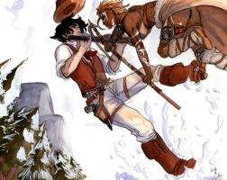 .::Western under the snow::. by LuthOstinato