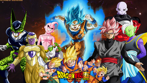 Dragon Ball Super - Ultimate Unison Wallpaper by WindyEchoes