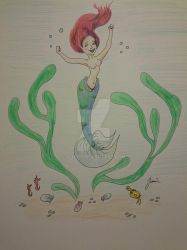 Mermaid Happy by Sliven