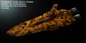 Commissioned: Starburst Class Medium Carrier by Colourbrand