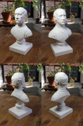 Larry David classical bust (4 sides) by CG-imagery