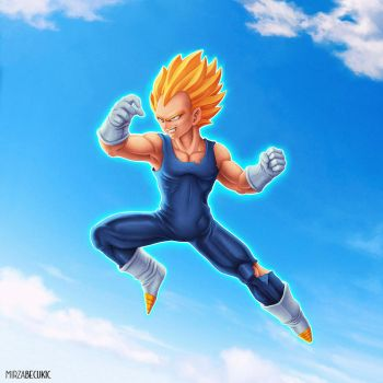 Vegeta by MirzaBecukic