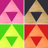 The Triforce of Power pop art by DevintheCool