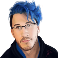 Bluuuue Markiplier by bitchthepot
