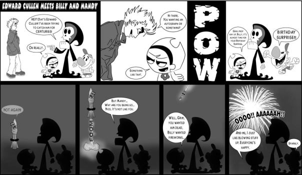 Edward Meets Billy and Mandy by pippin1178
