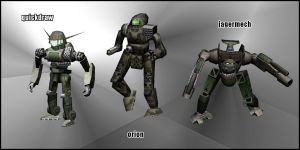 New mechs for v1.0 by pickledtezcat