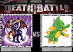 Death Battle - Spyro v.s Tabaluga by Badboylol