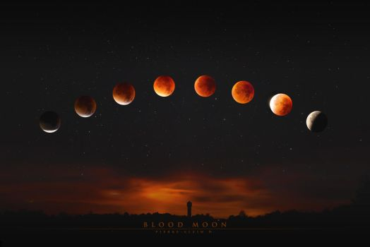 Super Blood Moon by 3mmI
