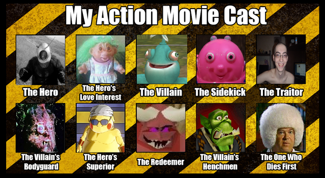 The best movie cast of all time by KaizerGibby