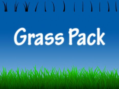Grass Brush Pack by truefreestyle