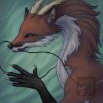 Icon for DragonFoxx70 by CreepyCatProductions