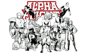 Alpha Flight Commission by Nick-OG