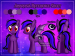 [Commission] Ambrosia Reference Sheet by Veemonsito