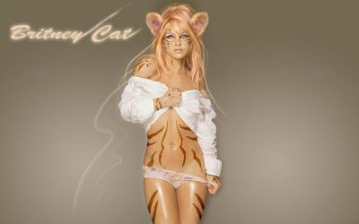 Britney Spears Cat Woman by discipleneil777