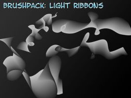 Light Ribbons - 4 Brushes by PerpetualStudios