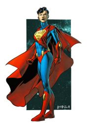 Superwoman... Laurel Kent by spidermanfan2099