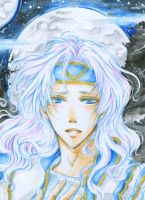 Aceo - Longing by cross-works