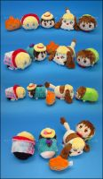 Stacking Plush: Howl's Moving Castle by Serenity-Sama