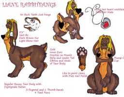 Liane-taur Reference by Puppetdog