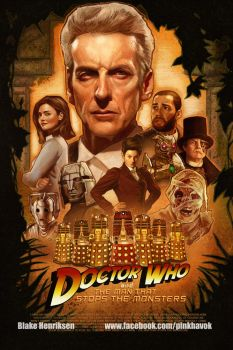 Doctor Who and The Man That Stops The Monsters by pinkhavok