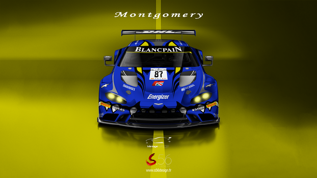 Aston Martin Vantage GT3 Montgomery Racing by Speedyx56