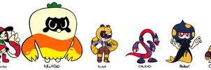 Playable Cast by Coonstito