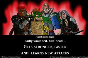 Final bosses and their logic by feadraug