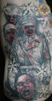 dead snow movie tattoo by 2Face-Tattoo