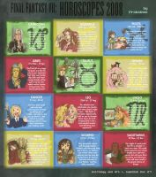FF7: Horoscopes 2008 by peannlui