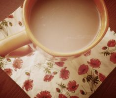 a cup of tea by A-Pie