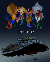 Fantasy Team Remembering Titanic by RetroUniverseArt