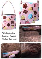 Cupcake Purse 2008 Commission by chat-noir