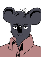 Vain Koala Colored by QRS3000