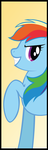 Rainbow Dash Room Banner by BronyState