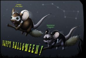 Happy Mouseween by Detrah