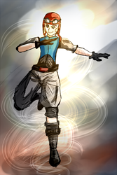 Yonen - Weather Mage by stalitha