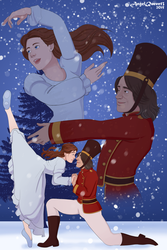 RSS- Rumbelle Nutcracker by AngelQueen13